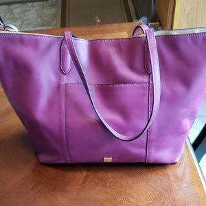 Leather ivanka trump handbag